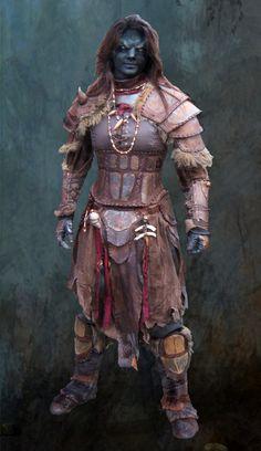 screamingnorth:  Female Orcwarrior by ~BloodworxSander
