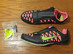 separation shoes ee29b 1d847 NEW Nike Zoom LJ 4 Long Jump Track   Field Athletic Shoes Spikes MENS 415339  036