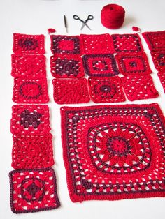 Mulla On Kalenteri, Johon Kirjoitan Käsi - Qoster Diy Crochet Granny Square, Pull Crochet, Crochet Coat, Crochet Winter, Crochet Squares, Crochet Clothes, Diy Crafts Knitting, Diy Crafts Crochet, Crochet Projects