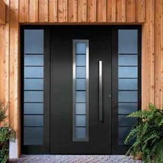 puertas modernas puertas principales puertas de entrada de metal fachadas casas ventanas correderas hierros barandas aberturas escaleras