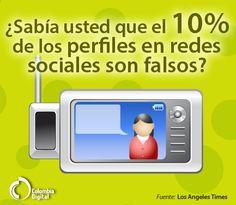 El 10% de los perfiles en redes sociales son falsos.