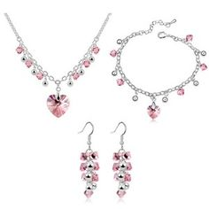 Austrian Crystal Set - Star Story ( Light Rose ) 7905