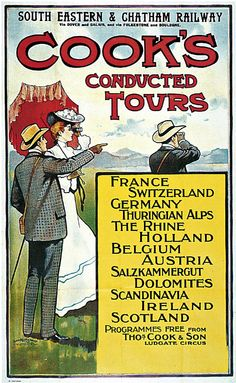Original lithograph with colour, printed in Great Britain by David Allan & Sons Ltd., 1010 x 630 mm. Vintage Advertisements, Vintage Ads, England Travel Poster, Gulliver's Travels, Nostalgic Images, Railway Posters, Tours France, Vintage Travel Posters, Art Pictures