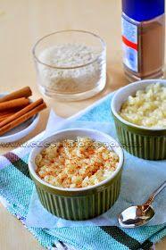 arroz doce com leite condensado