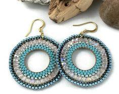 Items similar to Flower macramè earrings mandala dangle boho hippie aqua orange / colorful earrings / handmade earrings/ floral jewelry / textile jewelry on Etsy Macrame Earrings, Crochet Earrings, Drop Earrings, Dangles, Essential Oils, Buy And Sell, Trending Outfits, Unique Jewelry, Handmade Gifts