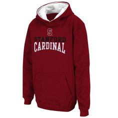 Stanford Cardinal Logo & Arch Pullover Hoodie - Cardinal - $34.99