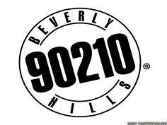 Beverly Hills 90210 logo -- ビバリーヒルズ高校白書・青春白書