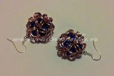 Růžovo modré náušnice - kuličky 120 Kč Drop Earrings, Jewelry, Fashion, Moda, Jewlery, Jewerly, Fashion Styles, Schmuck, Drop Earring