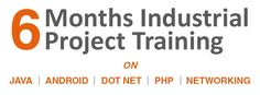 6 Month Industrial Live Project Training Program for B.tech/MCA freshers | 9953142981  . http://www.weekendtrainer.in/6-month-project-oriented-training