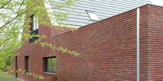 Dilatatie door middel van in buitenspouwblad opgenomen HWA. Paul Tesser architect BNA Bilthoven