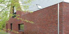 Dilatatie door middel van in buitenspouwblad opgenomen HWA. Paul Tesser architect BNA Bilthoven