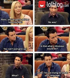 The Language Of Ross