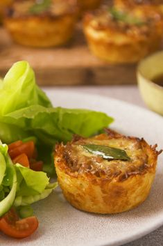 Bite-sized portions of the iconic South African dish. A crispy rice shell stuffed with a sweet mince filling and topped with a creamy egg layer and fresh bay leaf. South African Dishes, South African Recipes, Ethnic Recipes, Beef Recipes, Baking Recipes, Chicken Recipes, Peppermint Crisp Tart, Supper Recipes, Recipe Collection