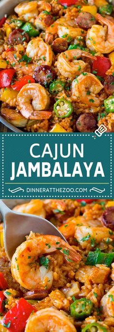 Low Unwanted Fat Cooking For Weightloss Jambalaya Recipe One Pot Meal Chicken Dinner Creole Recipes, Cajun Recipes, Seafood Recipes, Fish Recipes, Chicken Recipes, Cooking Recipes, Healthy Recipes, Cajun Cooking, Cajun Food