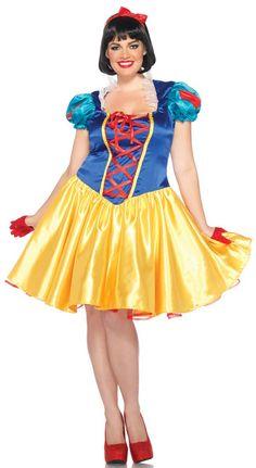 Plus Size Classic Snow White Costume - Disney Costumes