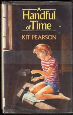 I. A Handful of Time: Kit Pearson II. CLABYC 1988 (Canadian Library Association Book of the Year Award for Children) III. Middle IV. Fantasy V. While her parents work out their divorce, twelve-year-old Patricia feels alienated from her rugged cousins until a magical watch allows her to visit the past, watch her mother at 12, and understand the sexism and racism that shaped her. VII.