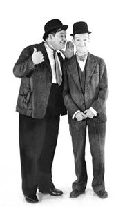 Stan Laurel & Oliver Hardy, Stan Laurel made his stage debut at the Britannia Panopticon Laurel And Hardy, Stan Laurel Oliver Hardy, Great Comedies, Classic Comedies, Classic Movies, The Comedian, Hollywood Stars, Classic Hollywood, Old Hollywood