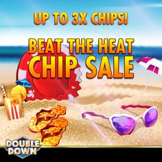 DoubleDown Casino on Mobile! Doubledown Casino, Double Down, Cash Prize, Beat The Heat, Chips, Coding, Link, Free, Potato Chip