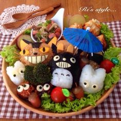 Totoro meal ^^
