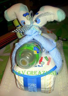 Le torte di pannolini di V&V CREAZIONI ♥https://www.facebook.com/VeVCreazioni * * Queste sono tutte le mie creazioni. Creazioni che possiedo e ho fatto da me! Tutte queste immagini sono mie, e sono protetti da copyright! Si prega di non prenderlo senza il mio consenso. V&V Creazioni: My Diaper Cakes ♥ These are all of my creations. Creations I own and I made by myself! All of these images are mine, and are protected by copyright! Please don't take it without my approvation ♥