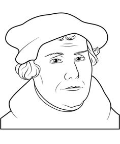 martin luther coloring pages reformation clothing | Donald Trump coloring page from Politics category. Select ...