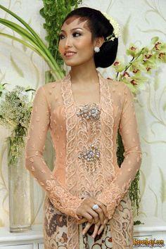Kutu Baru in pastel Dress Brukat, Kebaya Dress, Batik Dress, Kimono, Kebaya Brokat, Party Dress, Javanese Wedding, Indonesian Wedding, Kebaya Wedding