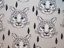 "Sweat Andrea Lauren ""Leopard grey"" Andrea Lauren, Etsy, Vintage, Home Decor, Craft Gifts, Fabrics, Decoration Home, Room Decor, Vintage Comics"