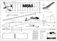 Burka II Hand glider