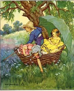 1930 Illustration By Clara M. Burd From A Child's by Elizabeth100