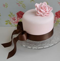 A cake for my Mother in Law's birthday.   by Little Paper Cakes