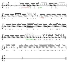 Free download of drum rudiments