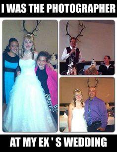 Photographer At Ex's Wedding