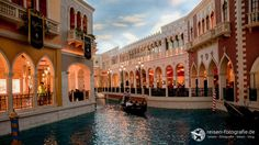 Gondelfahrt im Venecian Hotel