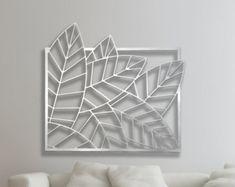 Corte laser Metal decorativo pared Panel de arte por DMPanels