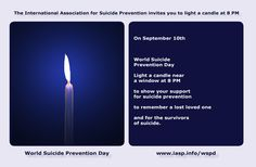 On September 10th, Worldwide Suicide Prevention Day, we are asked to stop for a…