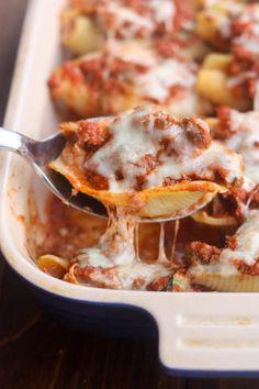 Lasagna Stuffed Shells | 99Recipes