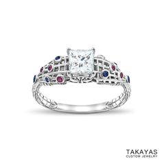 photograph of SpiderMan Spiderman engagement ring by Takayas