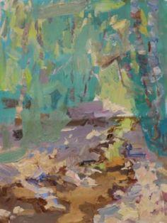 """Saatchi Art Artist Ksenia Logvinenko; Painting, """"Mountain Stream"""" #art"""