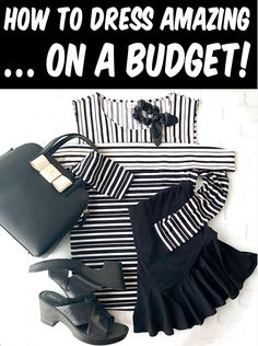 Womens Fashion Inspo Outfits - How to Dress Better on a budget! These simple tips will have you looking AMAZING, without breaking the bank! Have you tried any of these tricks yet?