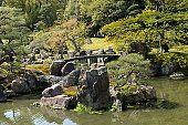 Japan, Kyoto, Nijo castle gardens