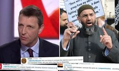 BBC under fire after Home Affairs Editor Mark Easton 'compares extremist preacher Anjem Choudary to Gandhi and Mandela'