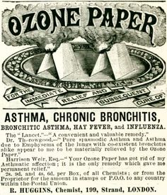 Fine Art Print-Advertising/Ozone Fine Art Print on Paper made in the UK Latest Scientific Discoveries, Dutch Words, Framed Prints, Canvas Prints, Art Prints, Beautiful Posters, London, Asthma, Vintage Advertisements