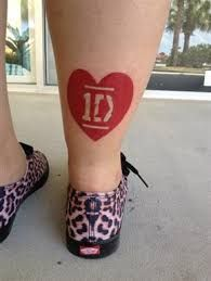 tattoos of one direction