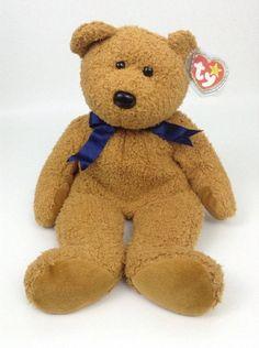 w  Tags Ty Beanie Baby Babies Buddy Fuzz the Bear 12