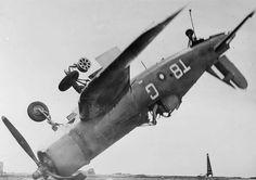 Corsair crash on HMS Smiter off Okinawa 1945