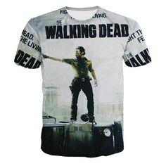 d013d0ac1fa926 The Walking Dead T-Shirt. Casual T Shirts3d T ShirtsPrinted ...