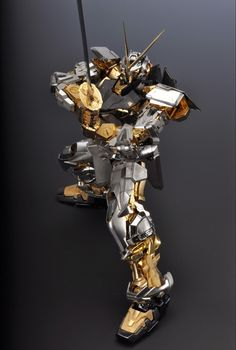 GUNDAM GUY: 1/60 Gundam Astray Gold Frame (Created Using Brass / Natural Emerald) - Retail @ 5,000,000 Yen