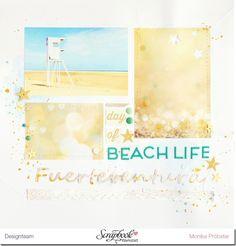 "*Imagicallery*: {Scrapbooking} Layout ""Beach Life"""