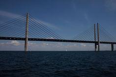 Øresundbroen - 2000 Lengde: 7 845 meter Høyde: 204 meter Seilingshøyde: 57 meter Skråstagsbro