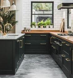 When we first revealed this Dark Green Shaker Kitchen, it became such a popular and recognisable project that it made @Houzz's top 10 kitchens of 2018!  It's a lesson in colour confidence for anyone looking to embrace their dark side. Flooded with light from its glass ceiling, the sunlit space is the perfect backdrop for the dramatic cabinetry palette. . . . . . #kitchenrenovation #kitchenoverhaul #houzz #kitchendesign #kitcheninspo #sustainableliving #Bristol #britishdesign #kitchensofinstagram Ikea New Kitchen, Updated Kitchen, New Kitchen Designs, Kitchen Ideas, Shaker Kitchen, Home Kitchens, Kitchen Remodel, Building A House, Kitchen Cabinets